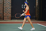 ATHENS, GA - MAY 23: Belinda Woolcock of the University of Florida celebrates against Stanford University during the Division I Women's Tennis Championship held at the Dan Magill Tennis Complex on the University of Georgia campus on May 23, 2017 in Athens, Georgia. (Photo by Steve Nowland/NCAA Photos via Getty Images)