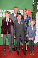 WESTWOOD, CA - NOVEMBER 5: Will Ferrell, Family at the premiere of Daddy's Home 2 at the Regency Village Theater in Westwood, California on November 5, 2017. <br /> CAP/MPI/DE<br /> &copy;DE/MPI/Capital Pictures