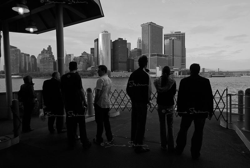 New York, May 16, 2009.Staten Island ferry.