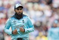 Adil Rashid (England) during Australia vs England, ICC World Cup Semi-Final Cricket at Edgbaston Stadium on 11th July 2019