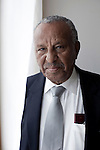 ADDIS ABABA, ETHIOPIA - NOVEMBER 7 : Bulcha Demeska, an opposition politician photographed near his home on November 7, 2010 in central Addis Ababa, Ethiopia. (Photo by: Per-Anders  Pettersson For Stern Magazine)