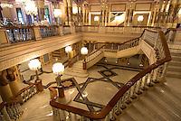 Türkei, Halle des Kempinski-Hotels im Ciragan-Palast in Istanbul , Stadttei Besiktas