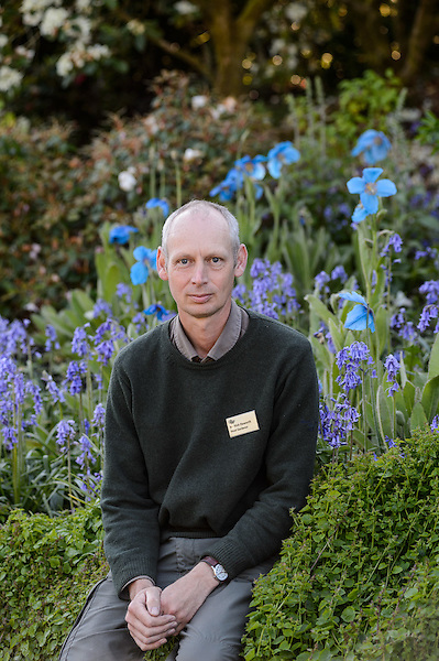 Head Gardener Nick Haworth