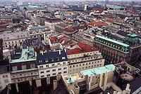Vienna, Austria, Wien, Aerial view of Vienna.