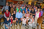 Seamus and Elizabeth O'Connor, Anvil Bar, Boolteens, pictured with their daughters Cora and Louise, sons Stephena nd Noel, family and friends as they celebrated their 25th wedding anniversary in the Anvil Bar on Sunday night.....