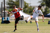 Frisco, TX - Thursday, June 24, 2016: USSDA - U15/U16 & U17/U18 2016 June Playoffs and Showcase