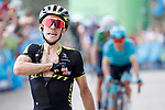 Simon Yates (GBR) Mitchelton-Scott wins Stage 14 of the La Vuelta 2018, running 171km from Cistierna to Les Praeres, Nava, Spain. 8th September 2018.<br /> Picture: Unipublic/Photogomezsport | Cyclefile<br /> <br /> <br /> All photos usage must carry mandatory copyright credit (&copy; Cyclefile | Unipublic/Photogomezsport)