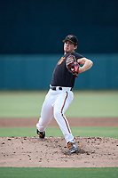 GCL Orioles pitcher Garrett Farmer (44) during a Gulf Coast League game against the GCL Red Sox on July 29, 2019 at Ed Smith Stadium in Sarasota, Florida.  GCL Red Sox defeated the GCL Pirates 9-1.  (Mike Janes/Four Seam Images)
