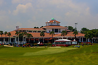 The club house from the 18th tee during Round 4 of the HSBC Womens Champions 2018 at Sentosa Golf Club on the Sunday 4th March 2018.<br /> Picture:  Thos Caffrey / www.golffile.ie<br /> <br /> All photo usage must carry mandatory copyright credit (&copy; Golffile | Thos Caffrey)