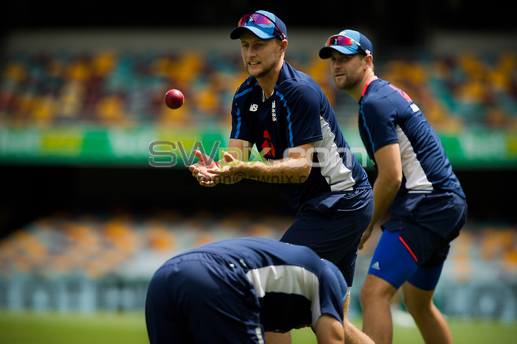 Ashes Preview - Joe Root at the Gabba Cricket Ground, Brisbane, Australia. 22 Nov 2017. Copyright photo: Patrick Hamilton / www.photosport.nz MANDATORY CREDIT/BYLINE : Patrick Hamilton/SWpix.com/PhotosportNZ