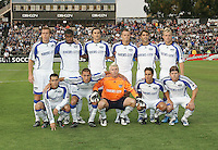 Kansas CIty Wizards Starting Eleven. The San Jose Earthquakes defeated the Kansas City Wizards in stoppage time 1-0 at Buck Shaw Stadium in Santa Clara, California on August 22, 2009.