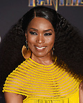 HOLLYWOOD, CA - JANUARY 29: Actor Angela Bassett attends the premiere of Disney and Marvel's 'Black Panther' at  the Dolby Theater on January 28, 2018 in Hollywood, California.