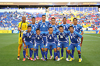 El Salvador Starting Eleven.  Trinidad & Tobago tied El Salvador 1-1 in the first round of the Concacaf Gold Cup, at Red Bull Arena, Monday July 8 , 2013.