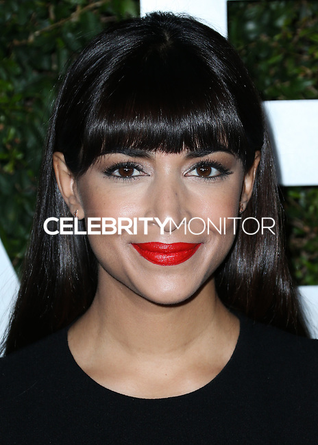 BEVERLY HILLS, CA, USA - OCTOBER 02: Hannah Simone arrives at Michael Kors Launch Of Claiborne Swanson Franks's 'Young Hollywood' Book held at a Private Residence on October 2, 2014 in Beverly Hills, California, United States. (Photo by Xavier Collin/Celebrity Monitor)