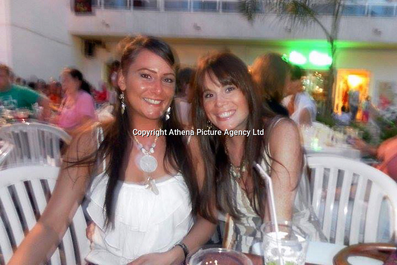 Pictured: Karanne Hollow (R), image taken from open social media account.<br /> Re: Inquest in Swansea, into the death tragic solicitor Karanne Hollow, 32, who killed herself after being caught drink-driving.