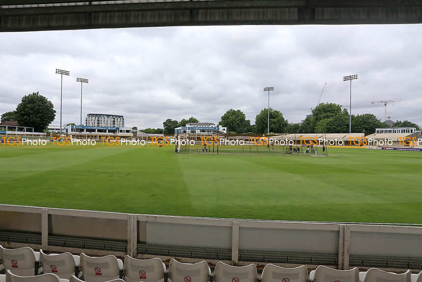 General view of the ground ahead of Essex Eagles vs Glamorgan, NatWest T20 Blast Cricket at The Cloudfm County Ground on 16th July 2017