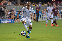 SAN JOSÉ CA - JULY 27: Judson #93 during a Major League Soccer (MLS) match between the San Jose Earthquakes and the Colorado Rapids on July 27, 2019 at Avaya Stadium in San José, California.