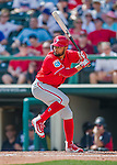 11 March 2016: Philadelphia Phillies infielder Andres Blanco in action during a Spring Training pre-season game against the Atlanta Braves at Champion Stadium in the ESPN Wide World of Sports Complex in Kissimmee, Florida. The Phillies defeated the Braves 9-2 in Grapefruit League play. Mandatory Credit: Ed Wolfstein Photo *** RAW (NEF) Image File Available ***