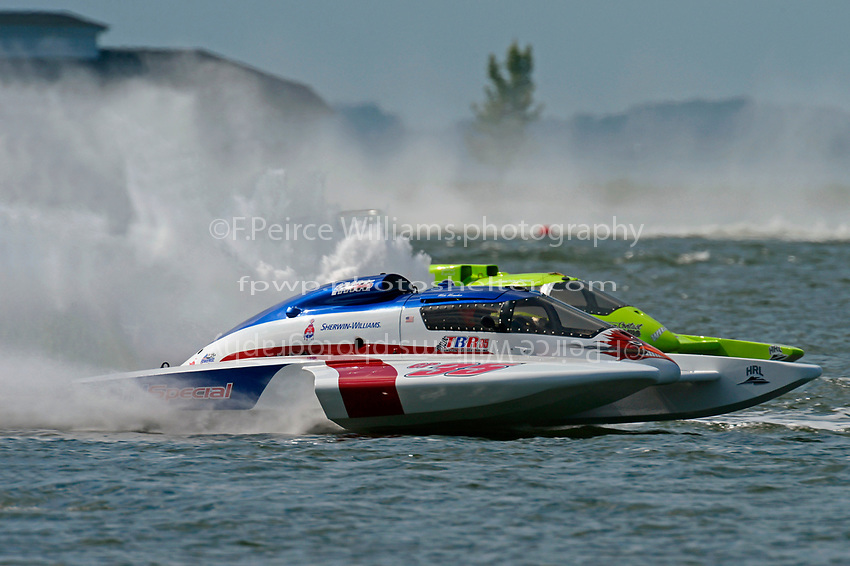 "Mike Monahan, GP-35 ""TM Special""  and Mathew Daoust, GP-9        (Grand Prix Hydroplane(s)"