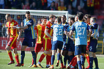 21.04.2018 Partick Thistle v Hamilton:  Players tempers flare