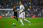 Toni Kroos of Real Madrid during La Liga match between Real Madrid and Sevilla FC at Santiago Bernabeu Stadium in Madrid, Spain. January 18, 2020. (ALTERPHOTOS/A. Perez Meca)