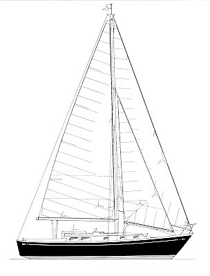 Globe Star, a steel-built Goderich 36 designed by Ted Brewer, is a sensible and able boat