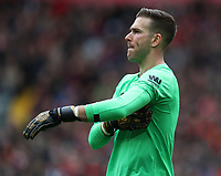 7th March 2020; Anfield, Liverpool, Merseyside, England; English Premier League Football, Liverpool versus AFC Bournemouth; Liverpool goalkeeper Adrian