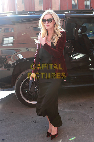 NEW YORK, NY - FEBRUARY 14: Nicky Hilton Rothschild arrives at alice +olivia by Stacey Bendet NYFW A/W 2017 Fashion Show at  Highline Stages on February 14, 2017 in New York City. <br /> CAP/MPI/DC<br /> &copy;DC/MPI/Capital Pictures