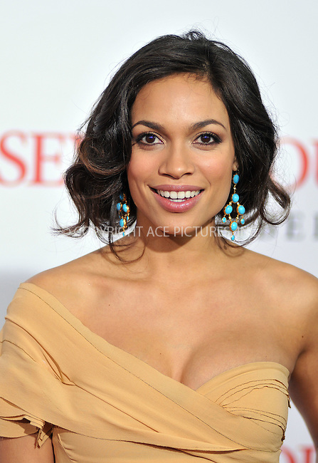 WWW.ACEPIXS.COM . . . . . ....December 16 2008, LA....Actress Rosario Dawson at the premiere of Columbia Pictures' 'Seven Pounds' at Mann's Village Theatre on December16, 2008 in Hollywood, California.....Please byline: JOE WEST- ACEPIXS.COM.. . . . . . ..Ace Pictures, Inc:  ..(646) 769 0430..e-mail: info@acepixs.com..web: http://www.acepixs.com