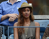 FLUSHING NY- SEPTEMBER 5: Shontelle is sighted watching the Sharapova Vs Bertoli match on Arthur Ashe stadium at the USTA Billie Jean King National Tennis Center on September 5, 2012 in in Flushing Queens. Credit: mpi04/MediaPunch Inc. ***NO NY NEWSPAPERS*** /NortePhoto.com<br />