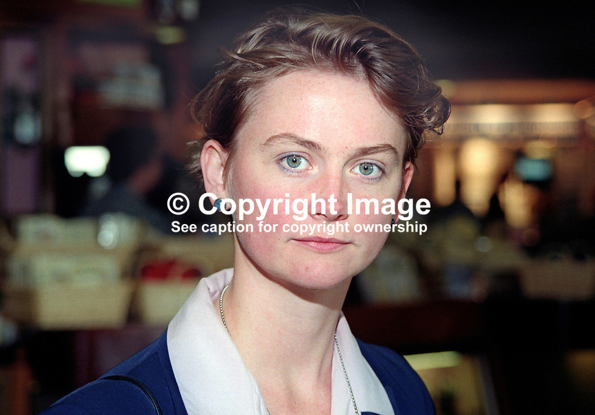 Yvette Cooper, MP, Labour Party, UK, annual conference, October 1997, 197710002<br />