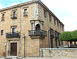 Historic palace mansion Casa del Doctor Trujillo, Plasencia, Caceres province, Extremadura, Spain