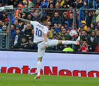 Stevan Jovetic  during the  italian serie a soccer match,between Frosinone and Inter      at  the Matusa   stadium in Frosinone  Italy , April 09, 2016