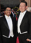 Roland Maldonado and Joel Bickley at the Houston Grand Opera's Yellow Rose Ball at the Wortham Theater Saturday April 10,2010. (Dave Rossman Photo)