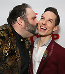 "Luke Grooms and Sean Patrick Doyle attends the Off-Broadway Opening Night Premiere of  ""Jerry Springer-The Opera"" on February 22, 2018 at the Roundabout Rehearsal Studios in New York City."
