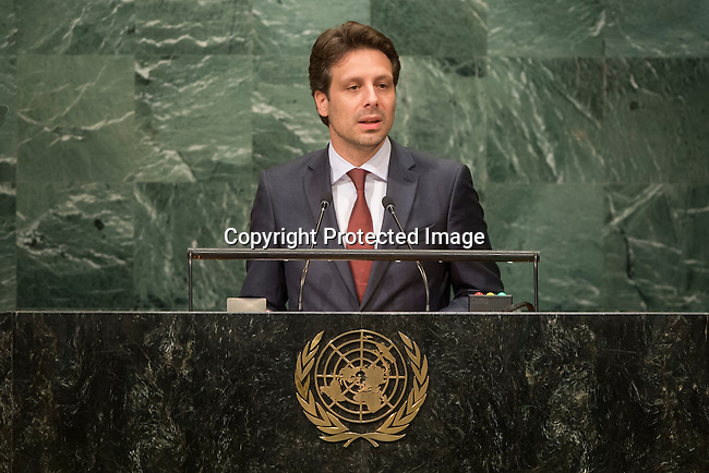 Ecuador<br /> H.E. Mr. Guillaume Long<br /> Minister for Foreign Affairs<br /> <br /> General Assembly Seventy-first session, 17th plenary meeting<br /> General Debate