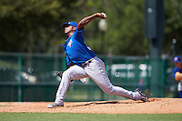 Toronto Blue Jays pitcher Jose Nova (35) during an instructional league game against the Atlanta Braves on September 30, 2015 at the ESPN Wide World of Sports Complex in Orlando, Florida.  (Mike Janes/Four Seam Images)