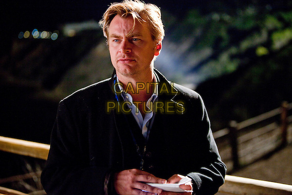 Director CHRISTOPHER NOLAN .on the set of Inception.*Filmstill - Editorial Use Only*.CAP/FB.Supplied by Capital Pictures.