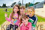 l-r Jacinta Griffin, Julie Griffin, Chloe O'Brien and Jessica Griffin. enjoying the NA GAEIL GAA, family fun day on Sunday