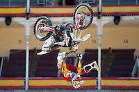 Training Red Bull X-Fighters 2012. Madrid. Rider In the picture Dany Torres ESP. July 19, 2012. (ALTERPHOTOS/Ricky Blanco) /NortePhoto.com<br />  <br /> **CREDITO*OBLIGATORIO** *No*Venta*A*Terceros*<br /> *No*Sale*So*third* ***No*Se*Permite*Hacer Archivo***No*Sale*So*third*©Imagenes*con derechos*de*autor©todos*reservados*.
