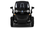 Straight front view of a 2012 - 2014 Renault Twizy Technic 80 Micro Car.