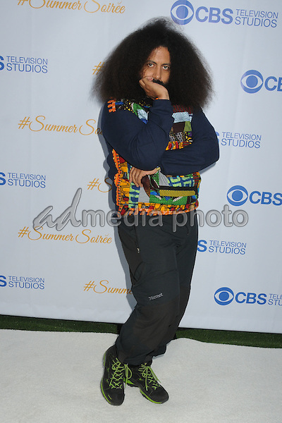 18 May 2015 - West Hollywood, California - Reggie Watts. 3rd Annual CBS Television Studios Rooftop Summer Soiree held at The London Hotel. Photo Credit: Byron Purvis/AdMedia
