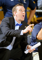Florida International University Assistant Coach Frank Holloway during the game against Troy University, which won the game 75-70 in overtime on February 23, 2012 at Miami, Florida. .