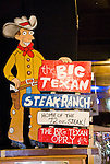 Big Texan Steak Ranch in Amarillo, Tex.