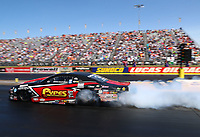 Sep 2, 2017; Clermont, IN, USA; NHRA pro stock driver John Gaydosh Jr during qualifying for the US Nationals at Lucas Oil Raceway. Mandatory Credit: Mark J. Rebilas-USA TODAY Sports