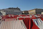 Il mercato di Porta Palazzo. Porta Palazzo market.