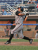 June 27, 2003:  Milver Reyes of the Williamsport Crosscutters, Short Season Class-A affiliate of the Pittsburgh Pirates, during a NY-Penn League game at Dwyer Stadium in Batavia, NY.  Photo by:  Mike Janes/Four Seam Images