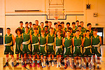 Irish U-5 Basketball Squad training at Mounthawk school in Tralee