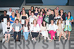 GRADUATION NIGHT: The Nurses and Carers Class of Tralee Community College (post primary) at their Graduation ceremony at the college on Thursday night..   Copyright Kerry's Eye 2008