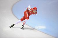 SCHAATSEN: HEERENVEEN: 31-01-2014,  IJsstadion Thialf, Training Topsport, Renz Rotteveel, ©foto Martin de Jong